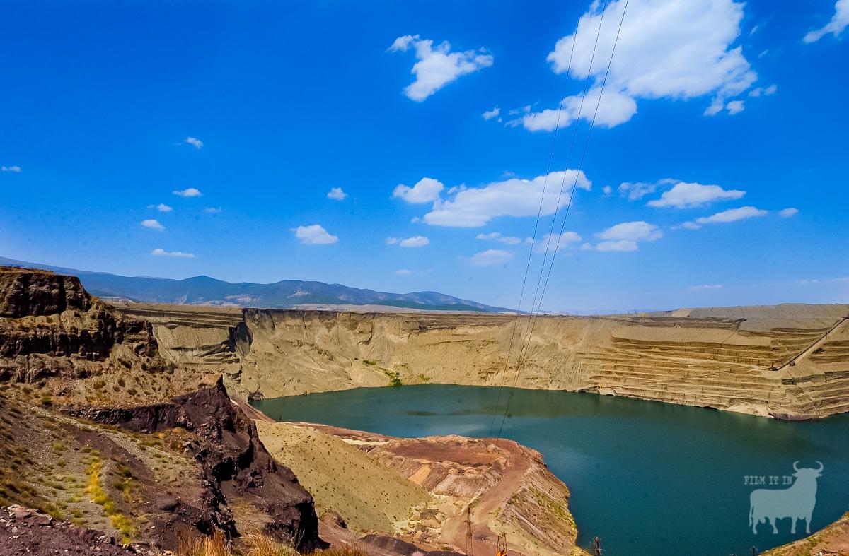Spain desert film location iron mines
