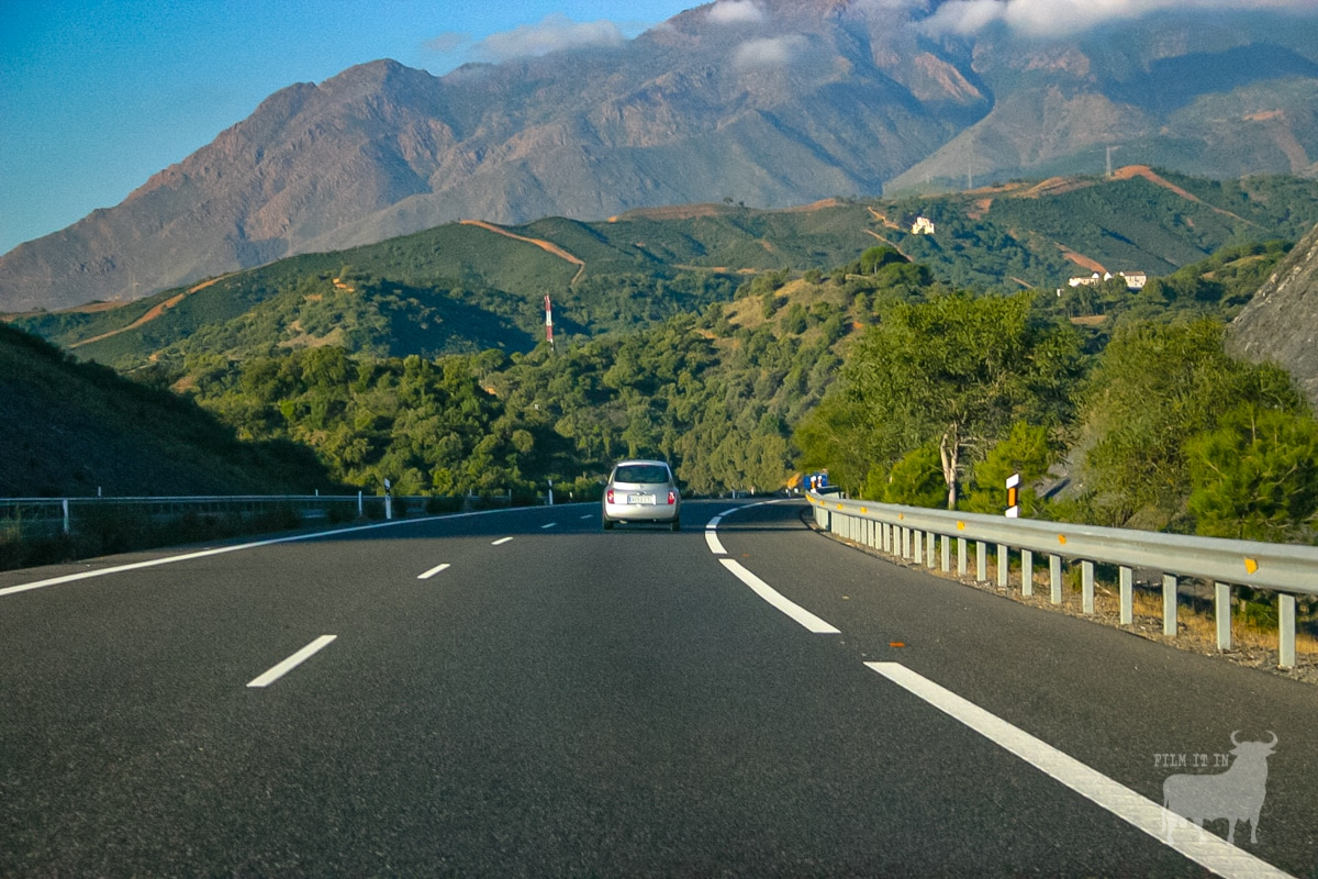 Spain film location road motorway
