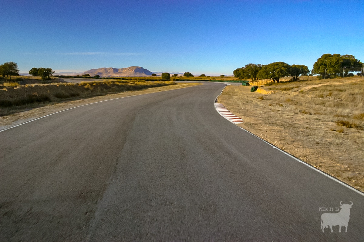 Spain film location road circuit