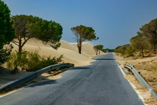 Spain film location road desert
