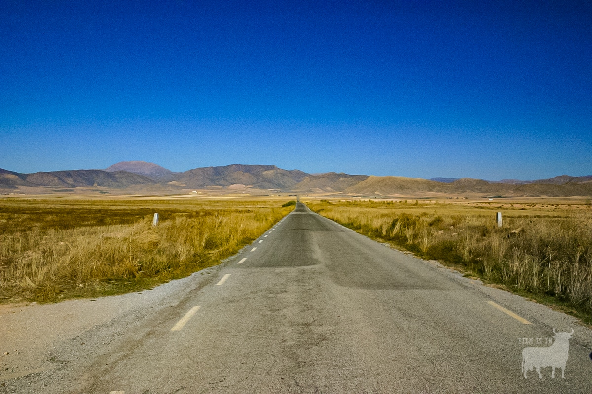 Spain film location road country