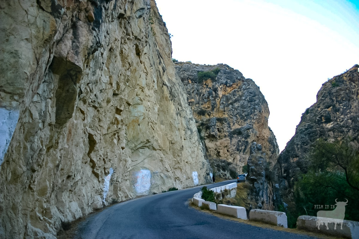 Spain film location road mountain