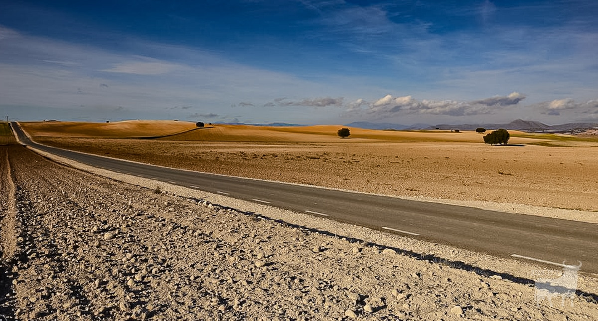 Spain film location road desert