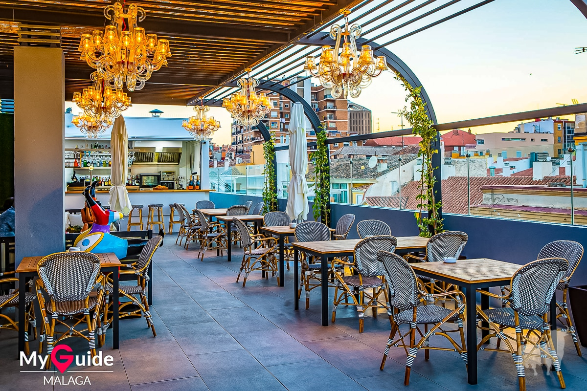 Spain film locations urban terrace bar