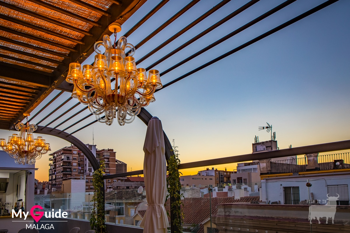 Spain film locations urban terrace bars