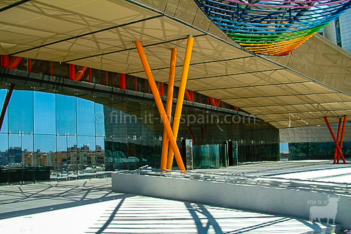 Spain film locations urban modern architecture