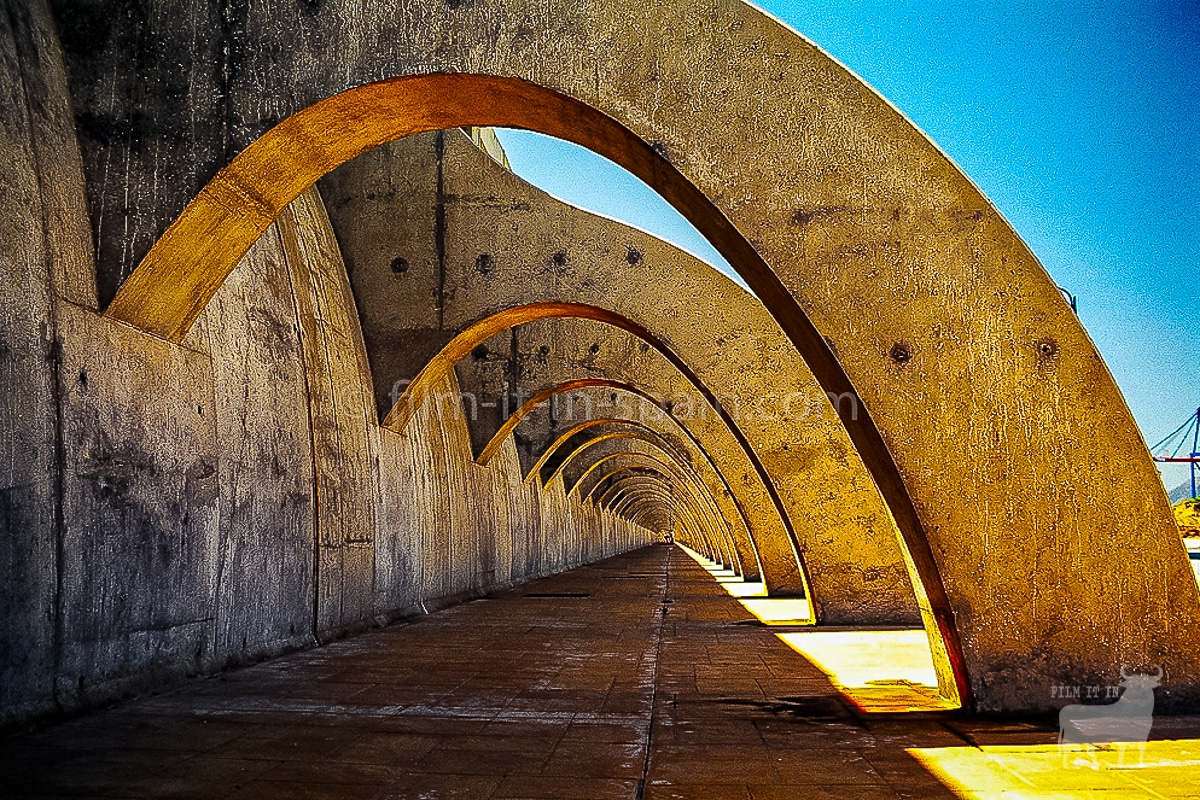 Spain film locations urban sea wall malaga