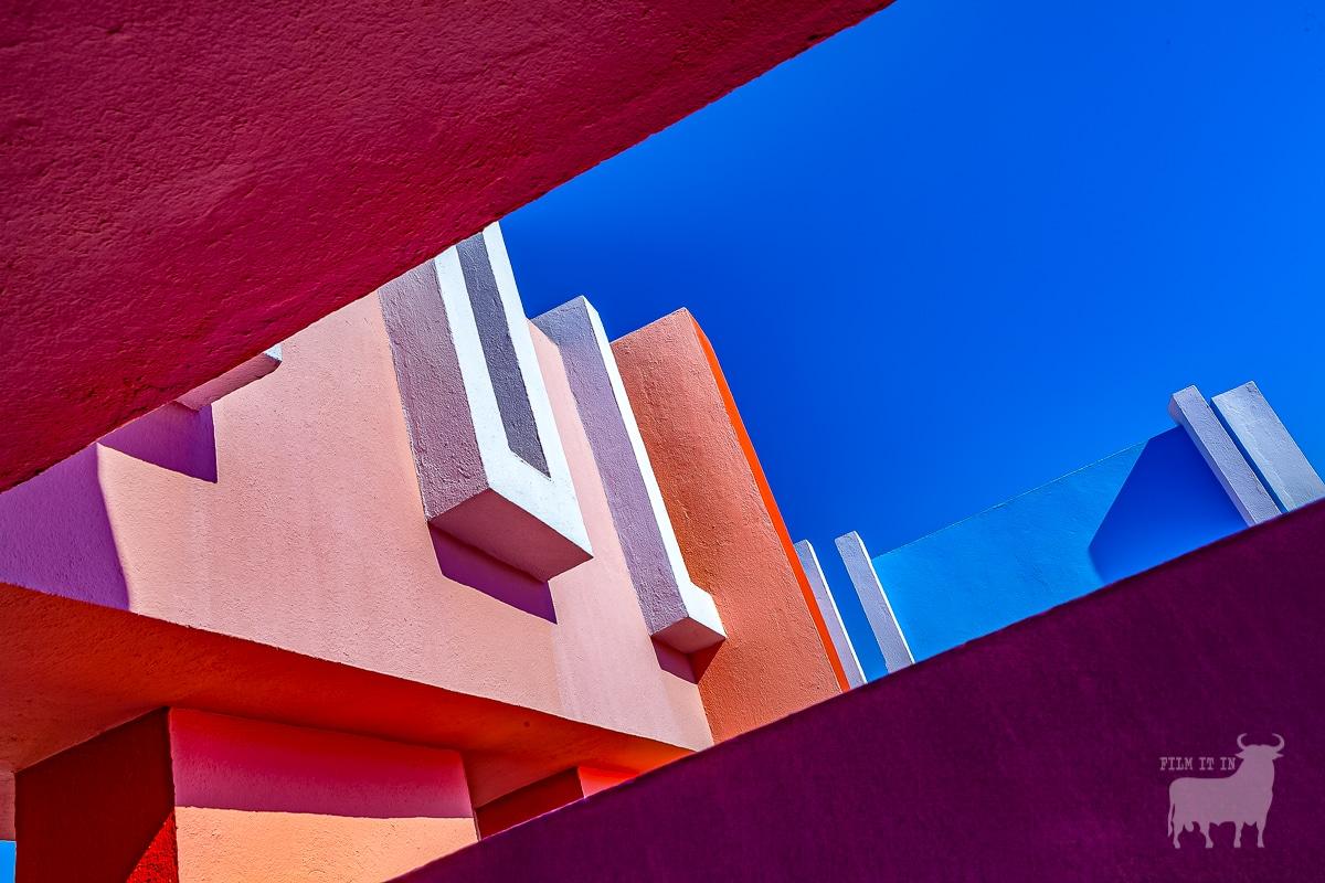 Spain film locations urban modern architecture