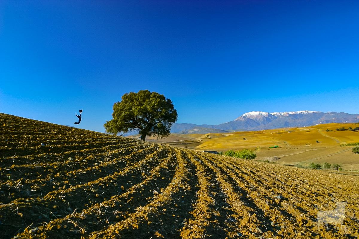 Epic vistas in Malaga province