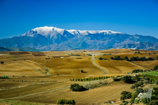 Spain landscapes fields farmland film location