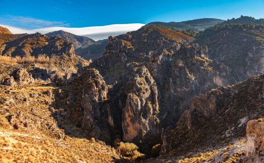 Spain spectacular mountain landscapes film location