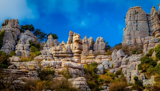Spain spectacular mountain landscapes film location el torcal